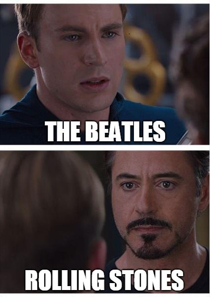 Beatles or Stones