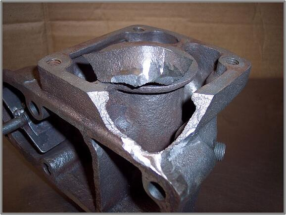 Cast iron skin