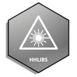 Icon - Metal Hex - HHLIBS - White - Square