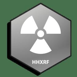 Icon - Metal Hex - HHXRF - White - Square