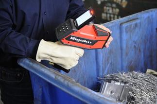 Rigaku KT-100S Testing Piece in Hand