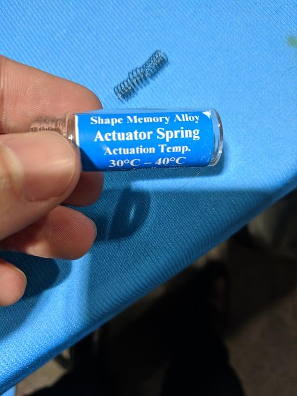 WESTEC 2019 - Dynalloy Memory Alloy Actuator Spring