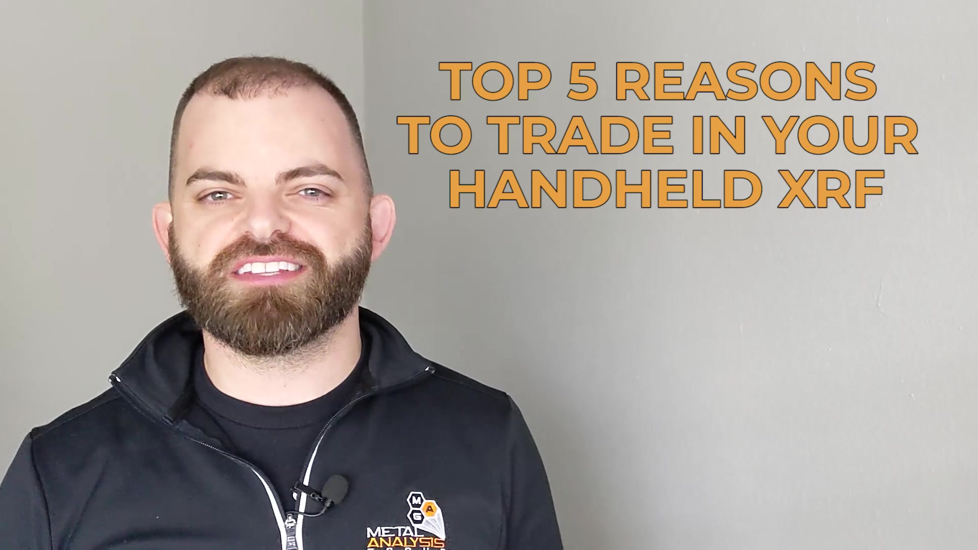 Top 5 Reasons to Trade-in Your Handheld XRF